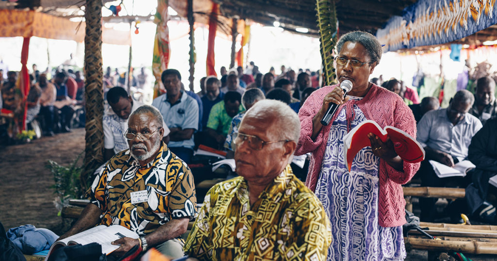 The Presbyterian Church of Vanuatu (PCV) National Assembly meeting