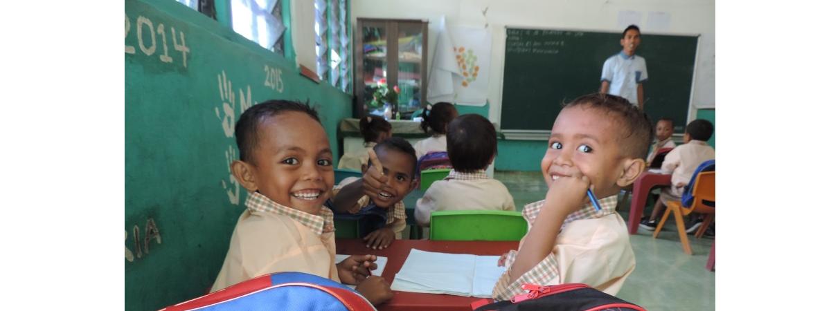 Timor Leste Children in Classroom